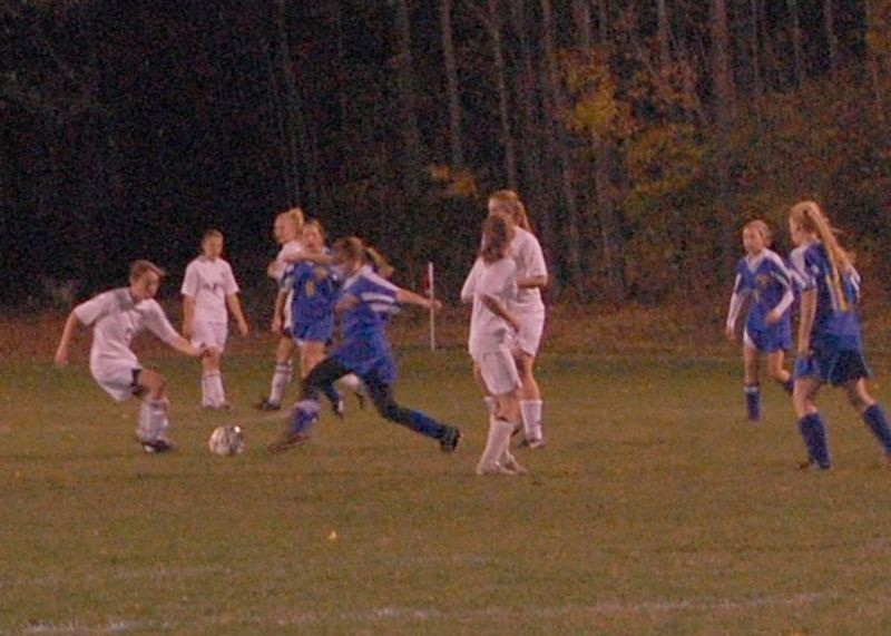 Soccer bruce br girls vs poultney 2009