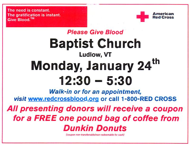Blood Drive January 2011