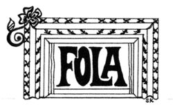 FOLA logo revised with rose