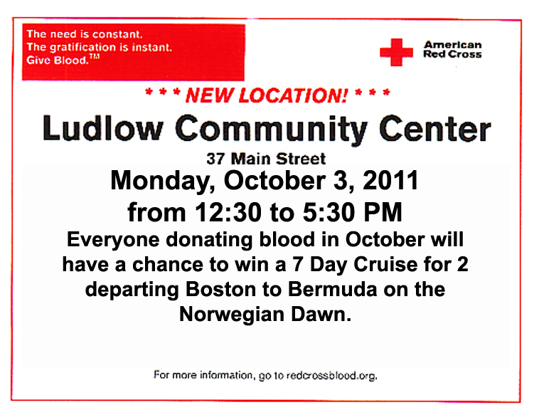 Red Cross Blood Drive 10 3 2011