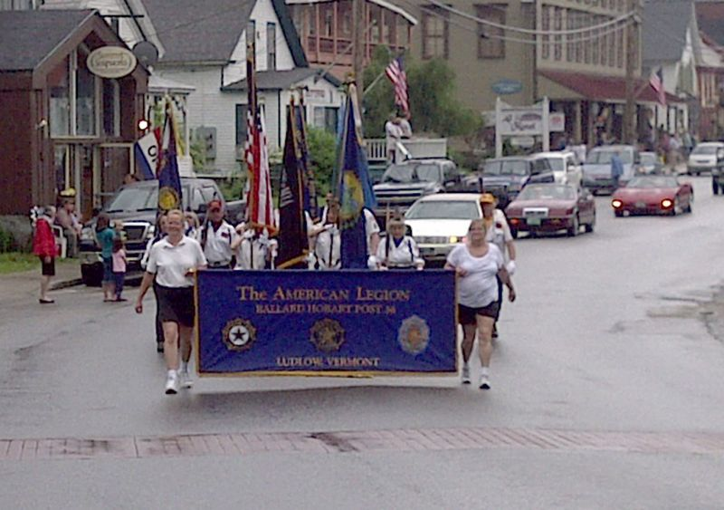 Memorial Day Parade in Ludlow 5 30 2011