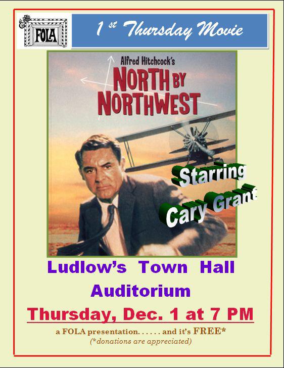 North by northwest poster