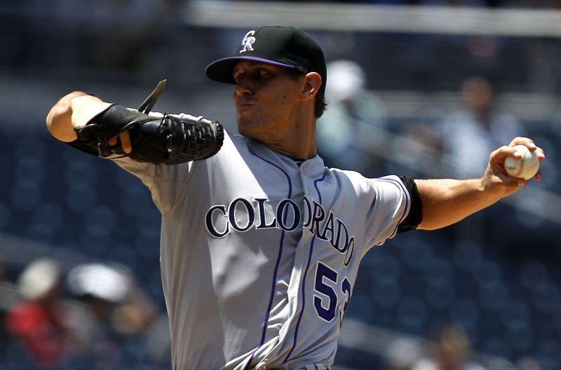 Rockies Padres Baseball.#10