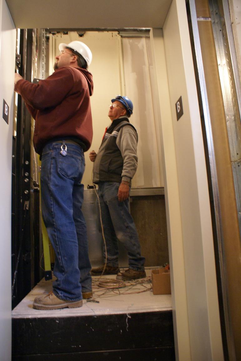 BRAM elevator installation 2 16 2012 1