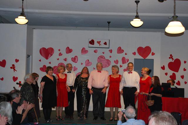 Valentine Musicale cast