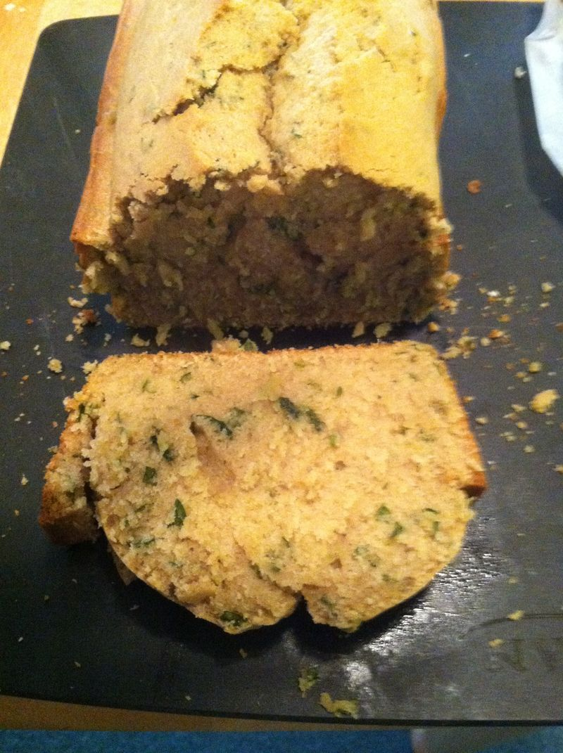 Mint tea muffin bread